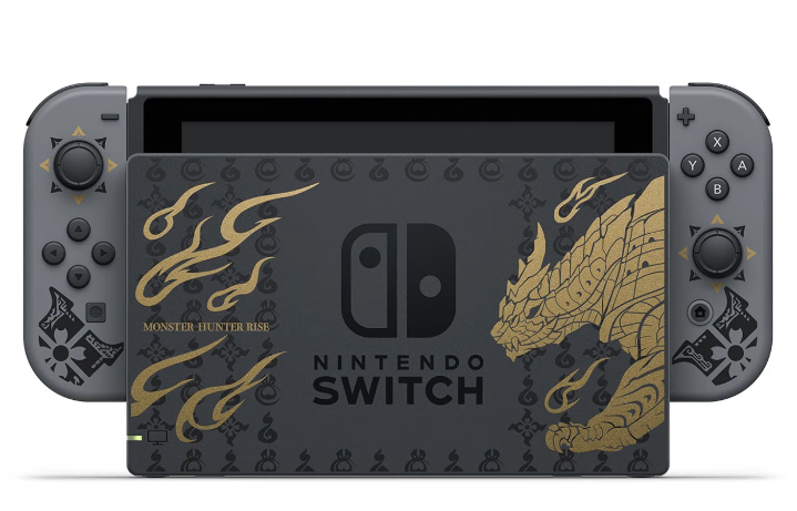 Nintendo To Disclose A Special Edition Monster Hunter Rise Switch Model!!!